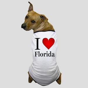 I Love Florida Dog T-Shirt