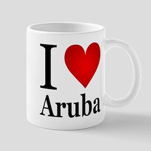 I Love Aruba Mug