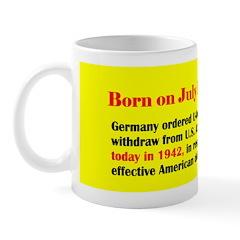 Mug: Germany ordered U-boats to withdraw from U.S.