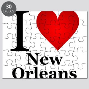 I Love New Orleans Puzzle