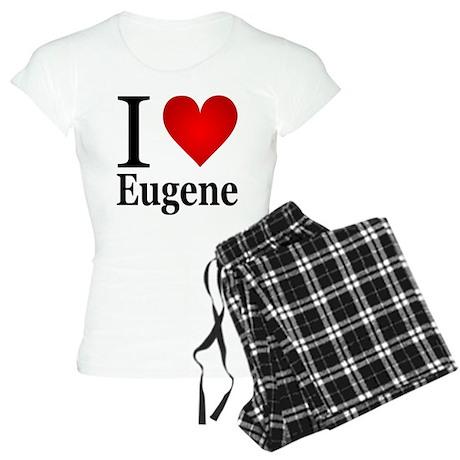 I Love Eugene Women's Light Pajamas