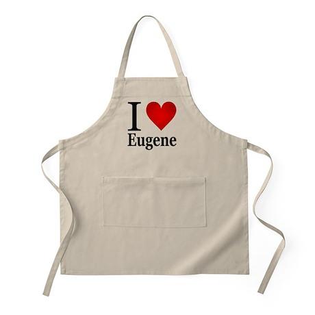 I Love Eugene Apron