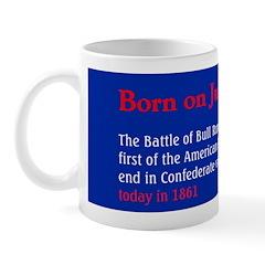 Mug: Battle of Bull Run in Virginia, first of the