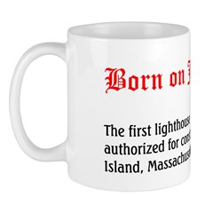 Mug: First lighthouse in America was authorized fo