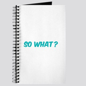 So what? Journal