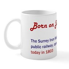 Mug: Surrey Iron Railway, the world's first public