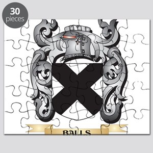 Balls Family Crest - Balls Coat of Arms Puzzle