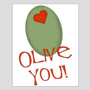 Olive You! Small Poster