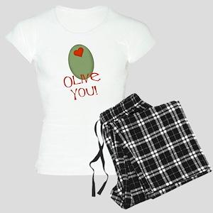 Olive You! Women's Light Pajamas