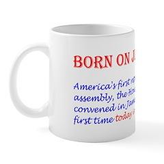 Mug: America's first representative assembly, the
