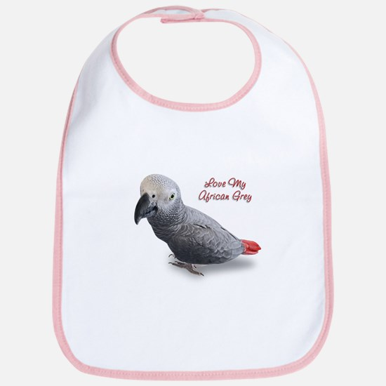 African Grey Parrot Gifts Bib