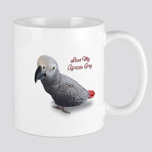 African Grey Parrot Gifts Mug
