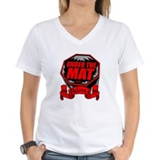 Under the Mat with Paloma Women's V-Neck T-Shirt
