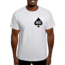 Ace Kicker Ash Grey T-Shirt
