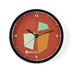 Iglesia Del Maestro (Ico-4c) Wall Clock