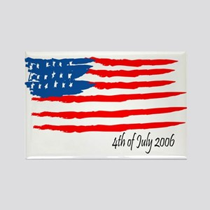 4th of July 2006 Rectangle Magnet