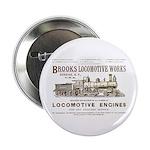 Brooks Locomotive Works Button