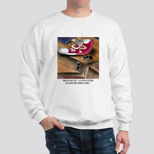 Ant Falls Between the Cracks Sweatshirt