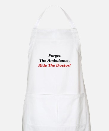 Ride The Doctor! Apron