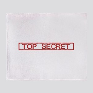 Top Secret Throw Blanket