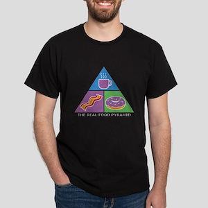 Food Pyramid Dark T-Shirt