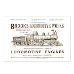 Brooks Locomotive Works Postcards (Package of 8)