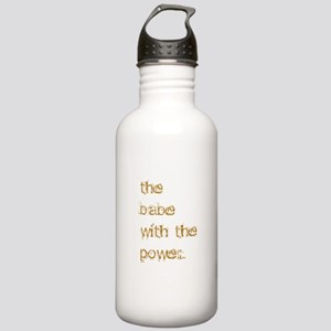 Babe with Power (Gold) Stainless Water Bottle 1.0L