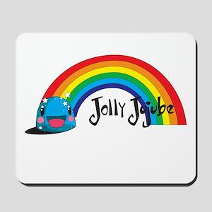 Cute Jolly Jujube Mousepad