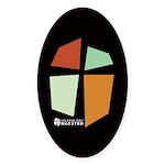 Iglesia Del Maestro (Ico-4c) Sticker (Oval 10 pk)