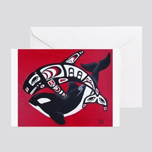 Spirit of the Orca Greeting Cards (Pk of 10)