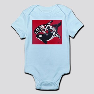 Spirit of the Orca Infant Creeper