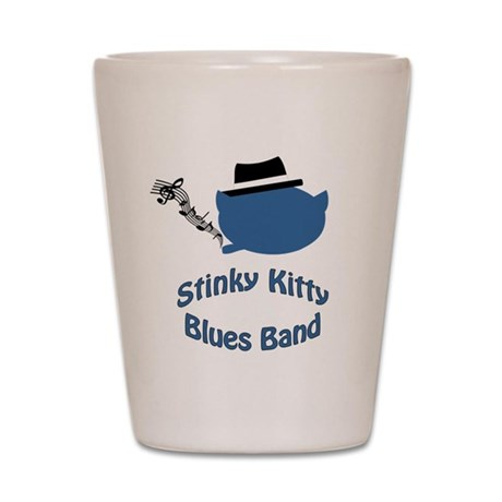Stinky Kitty Shot Glass