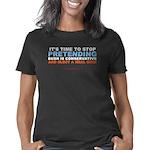 Stop Pretending trsp Women's Classic T-Shirt