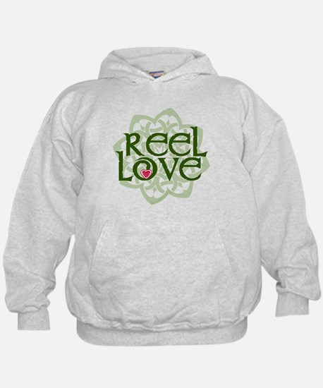 Reel Love for Irish Dance by DanceBay.com Hoodie