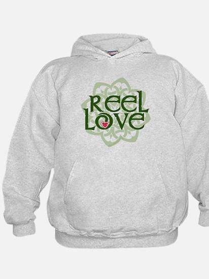 Reel Love for Irish Dance by DanceBay.com Hoody