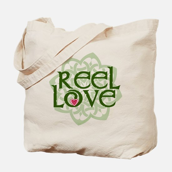 Reel Love for Irish Dance by DanceBay.com Tote Bag
