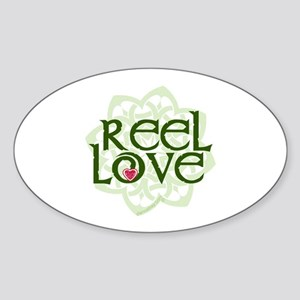 Reel Love for Irish Dance by DanceBay.com Sticker
