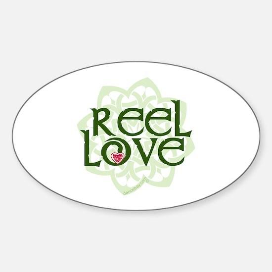 Reel Love for Irish Dance by DanceBay.com Decal