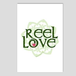 Reel Love for Irish Dance by DanceBay.com Postcard