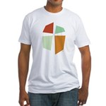 Iglesia Del Maestro (Ico-4c) Fitted T-Shirt