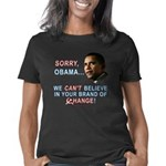 Obama Sorry dk Women's Classic T-Shirt