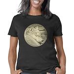 Shiba Inu Dog Art Women's Classic T-Shirt