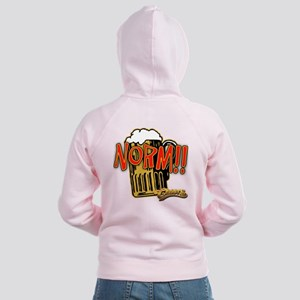 NORM! with Beer Mug Women's Zip Hoodie