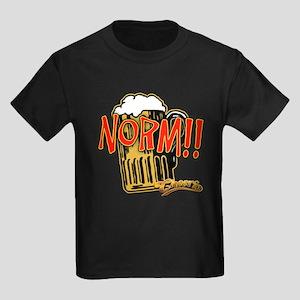 NORM! with Beer Mug Kids Dark T-Shirt