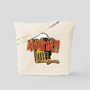 NORM! with Beer Mug Tote Bag