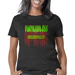 3-vomitradioshirtfront0307 Women's Classic T-Shirt