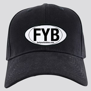 Feel Your Boobies Black Cap
