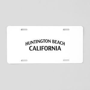 Huntington Beach California Aluminum License Plate