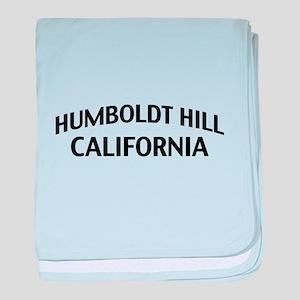 Humboldt Hill California baby blanket