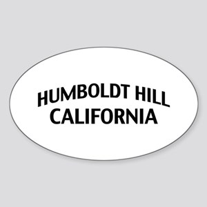 Humboldt Hill California Sticker (Oval)